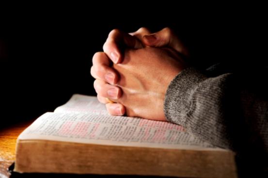 Praying-Hands-Bible